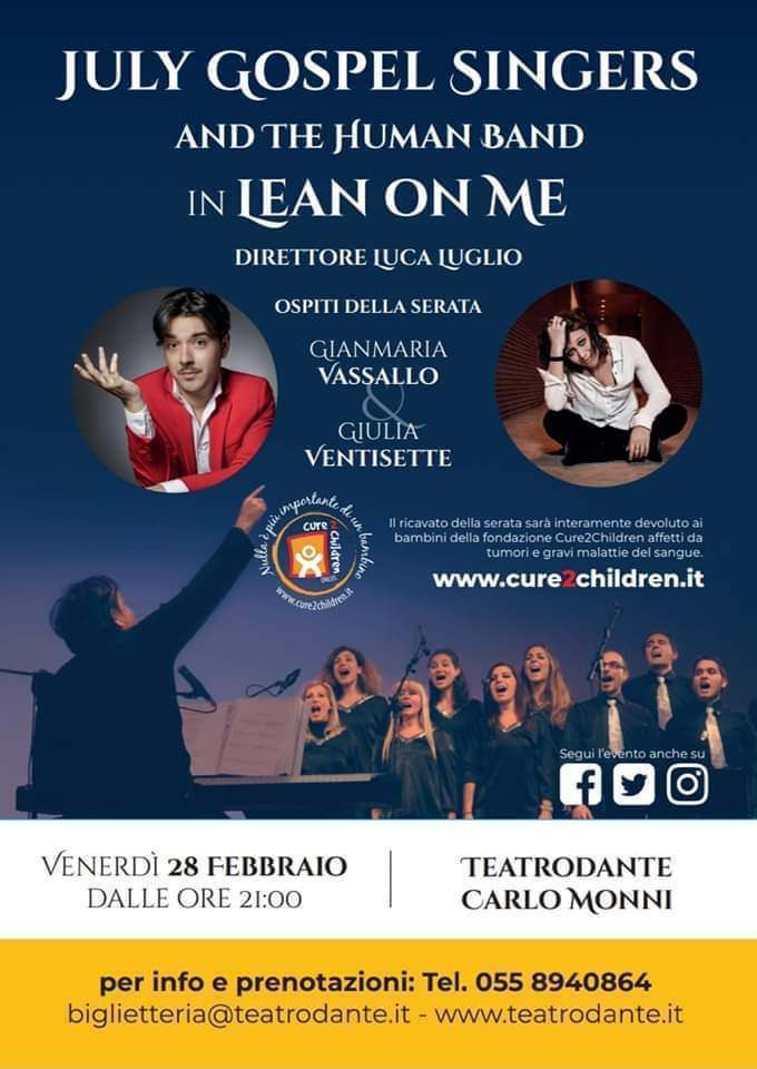 LEAN ON ME Teatrodante Carlo Monni
